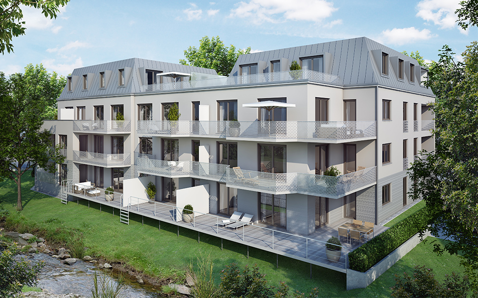 Bauprojekt Fürstendamm Palais Freising Domicil Stadtbau